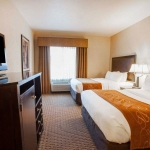 Well equipped guest room